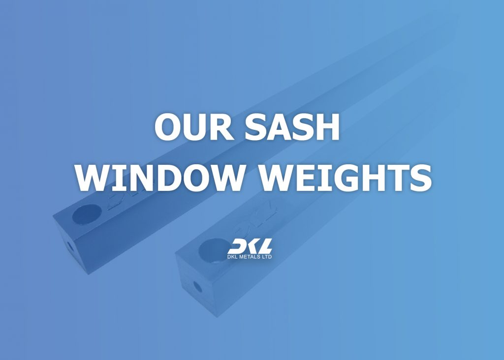 sash window weights, casting alloys, solder analysis